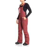 Roxy Rideout Bib pnt (Oxblood Red) - 21